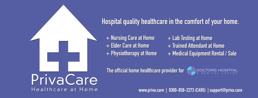 At Home healthcare in Lahore Pakistan
