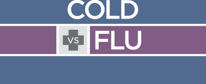 Difference between a cold and the flu
