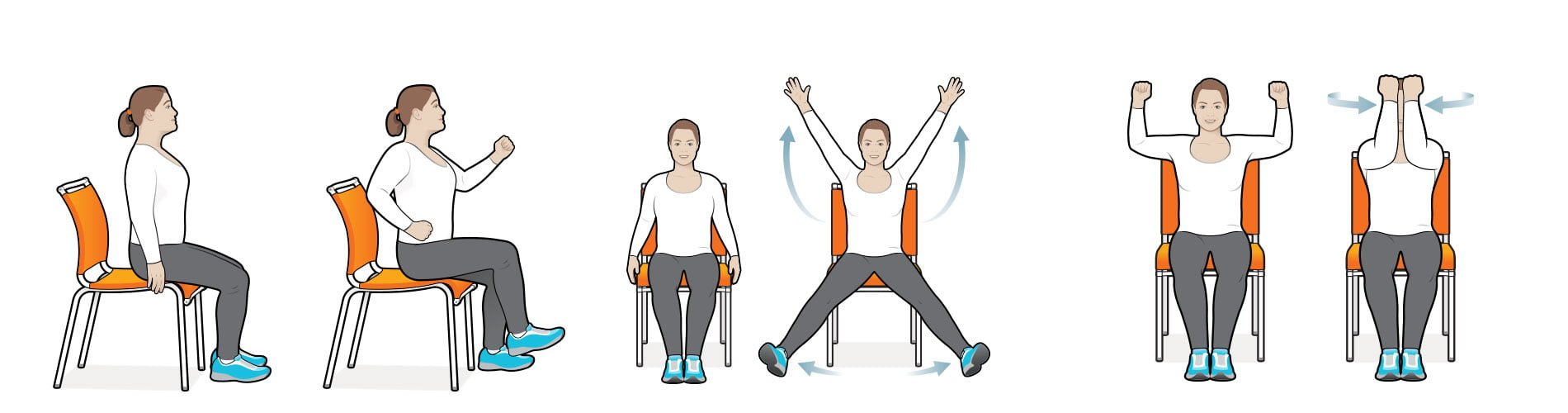 Stretches for older adults